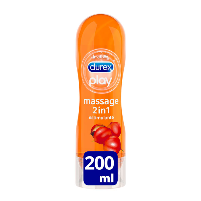 Durex Play Massage 2 en 1 Estimulante 200ml