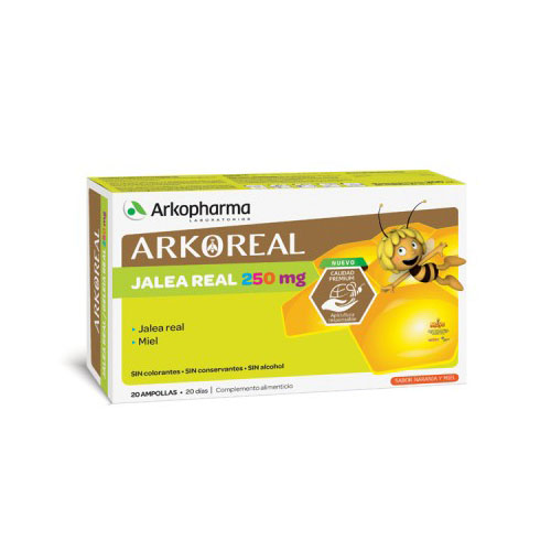 Arko Real Jalea Real 250mg 20 ampollas