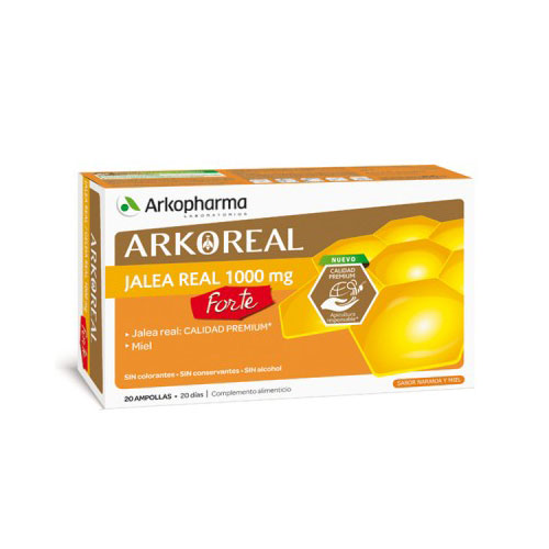 Arko Real Jalea Real Forte 1000mg 20 ampollas