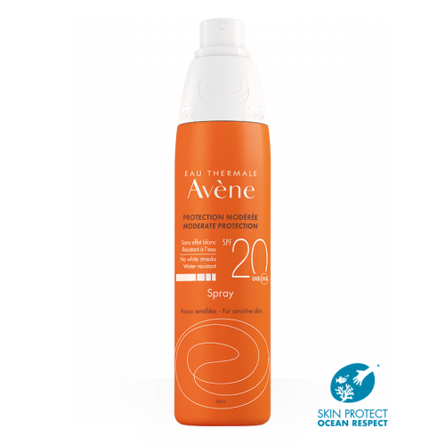 Avene Spray solar corporal SPF20 200ml