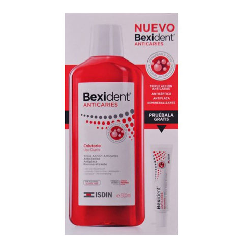 Oferta Bexident Anticaries Colutorio 500ml + Pasta