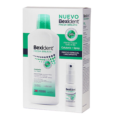 Oferta Bexident Aliento fresco Colutorio 500ml + Spray