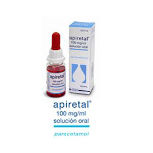 Apiretal 100mg/ml Solución Oral 30 ml