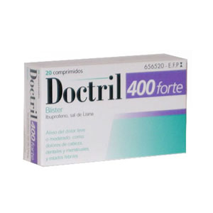Doctril Forte 400mg 20 comprimidos