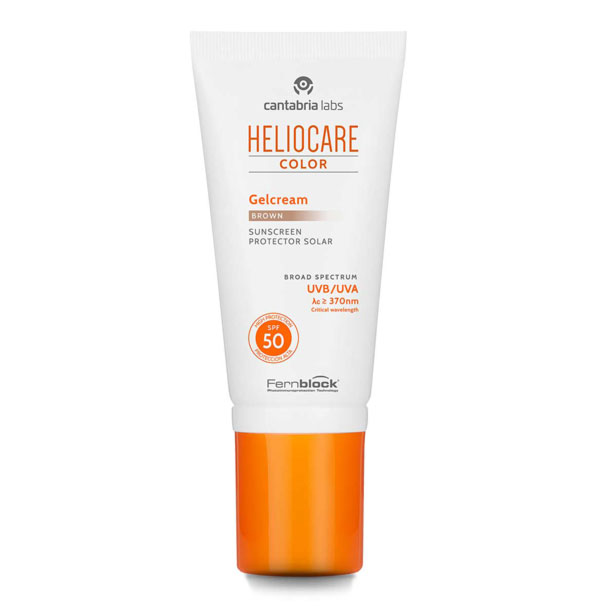 HELIOCARE Gel crema SPF50 Color brown 50ml