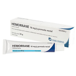 Hemorrane 10mg/g pomada rectal