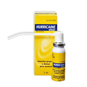 Hurricaine spray 200mg/ml