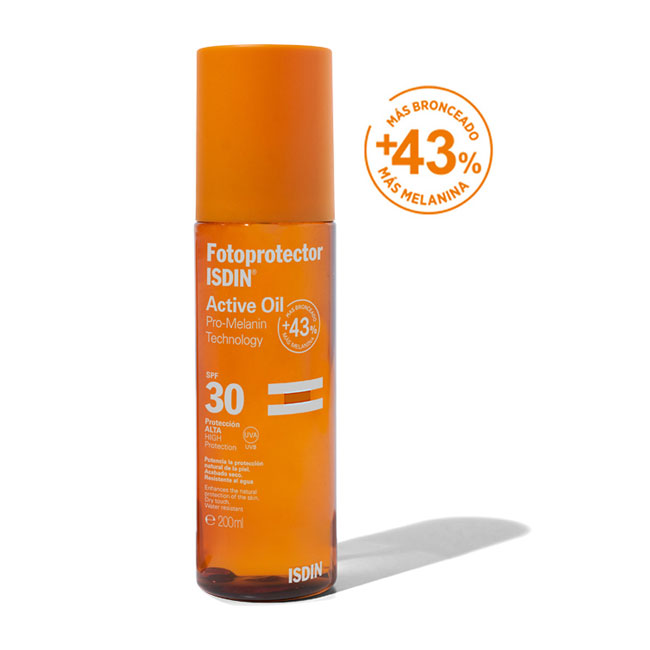 Fotoprotector ISDIN Active Oil SPF30