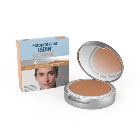 Isdin Fotoprotector Compact SPF50+ Bronce
