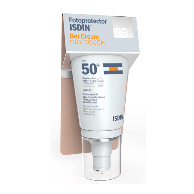 Isdin Fotoprotector SPF50+ Gel Cream Dry Touch Color