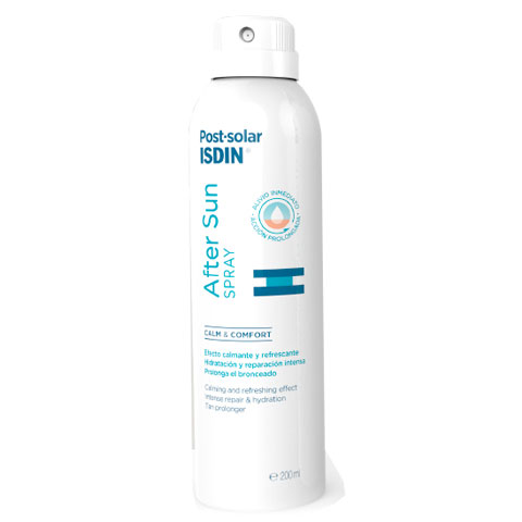 Isdin After sun Spray efecto inmediato Postsolar 200ml