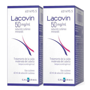 Lacovin 50mg/ml 2 Frascos 60ml