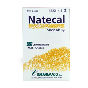 Natecal 1500mg 60 comprimidos