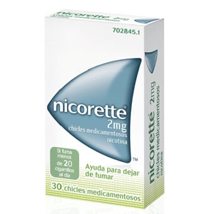 Nicorette 2mg 30 chicles