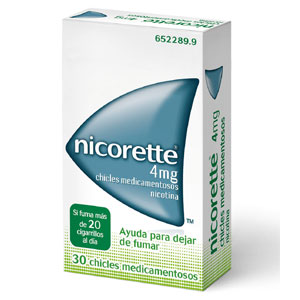 Nicorette 4mg 30 chicles