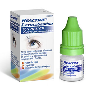 Reactine Levocabastina Colirio 4ml