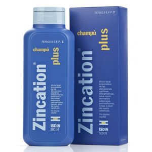 Isdin Zincation Plus champú 500ml