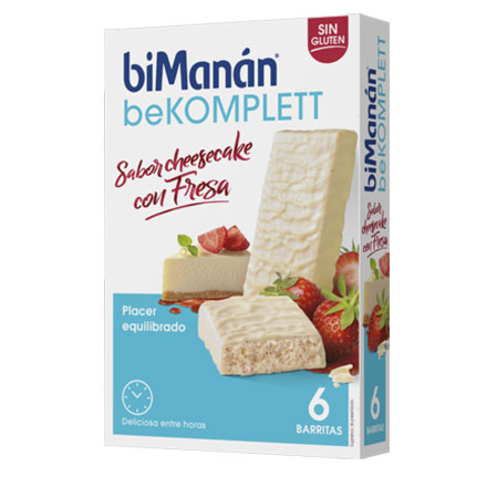Bimanan Komplett chocolate blanco cheese cake & fresa
