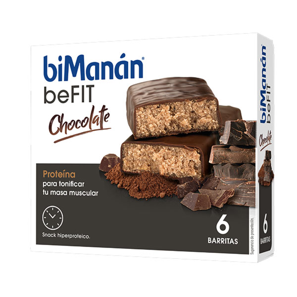 Bimanan 6 Barritas Sabor Chocolate