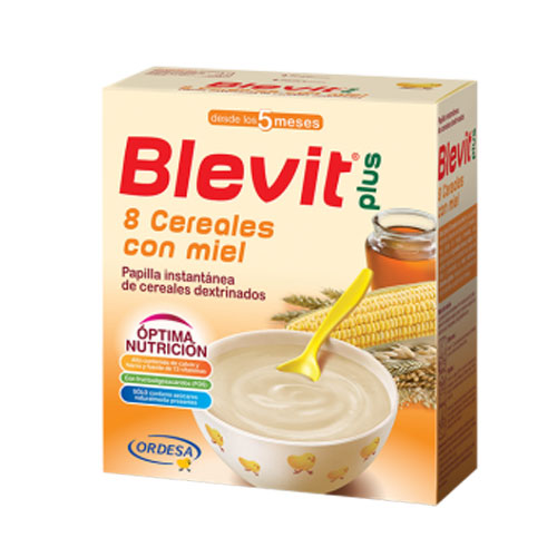 Blevit Plus 8 Cereales con Miel Superfibra 600gr