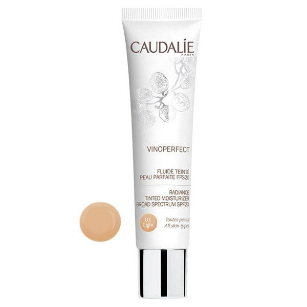 Caudalie Vinoperfect Fluido Color FPS20 - 01 Light