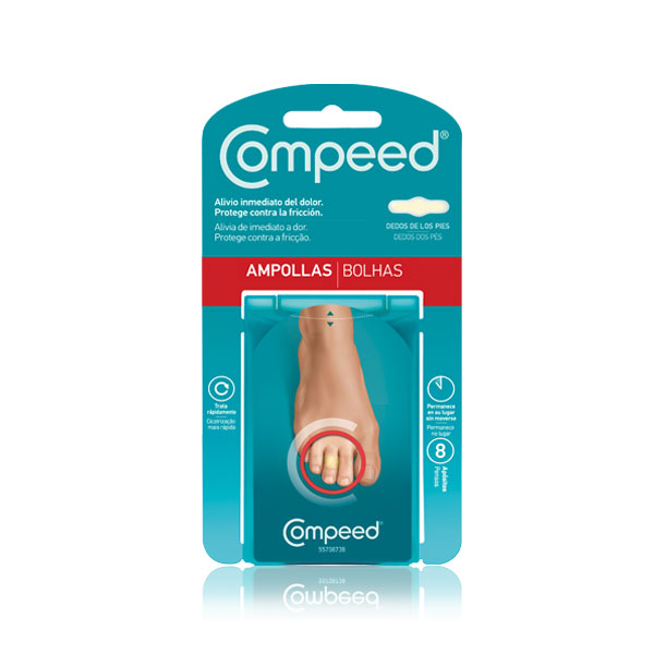 Compeed Ampollas Dedos Pies 8 apósitos