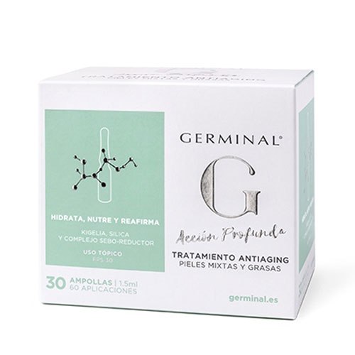 Germinal Acción Profunda Antiaging 30 amp.