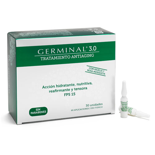 Germinal 3.0 Tratamiento Antiaging 30 ampollas