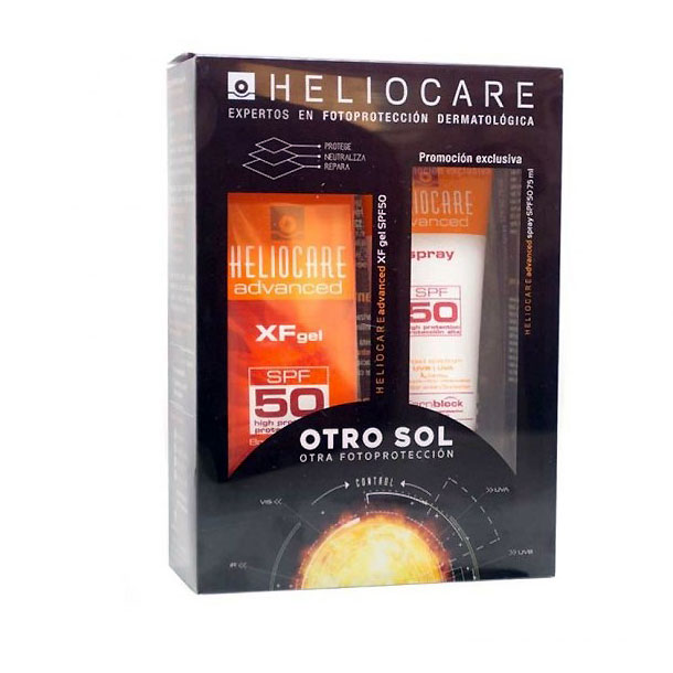 OFERTA HELIOCARE Advanced XF Gel SPF50 + Spray SPF50