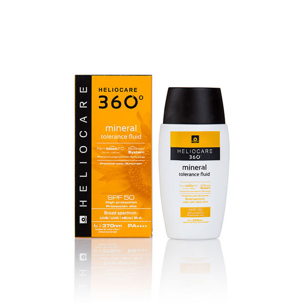 HELIOCARE 360º Mineral Tolerance Fluid facial SPF50 50ml