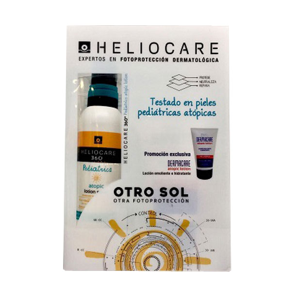 OFERTA HELIOCARE 360º Pediatrics Atopic Spray SPF 50+