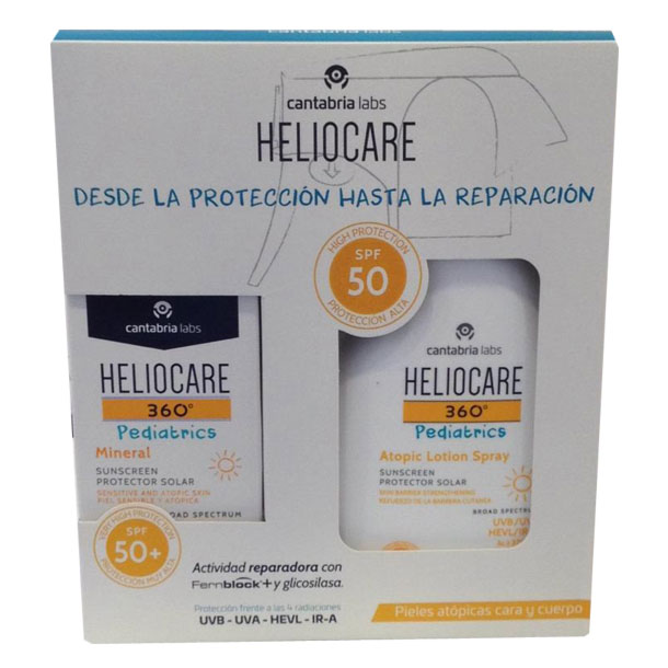 HELIOCARE 360º Pediatrics Atopic Lotion Spray SPF50+ 200ml