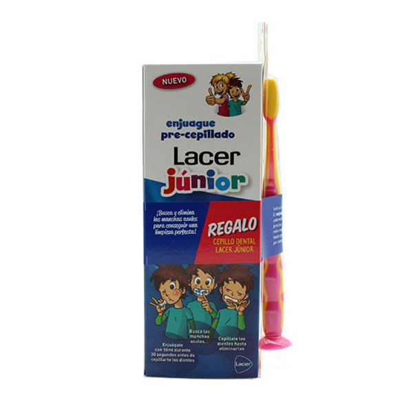 Lacer Enjuague pre-cepillado 500ml + Cepillo