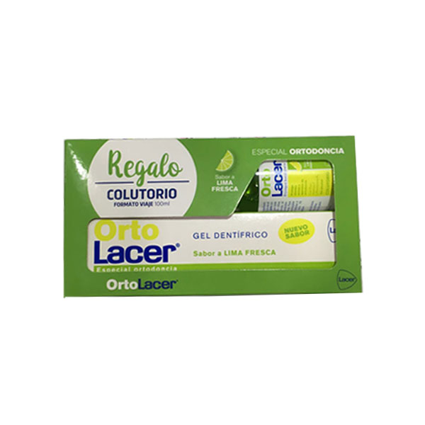 Oferta Lacer Pasta dental Orto lima 75ml + Colutorio