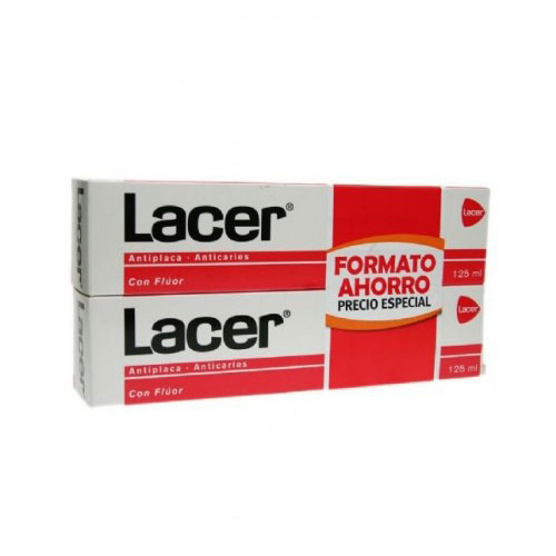Oferta Lacer Pasta dental 2x125ml