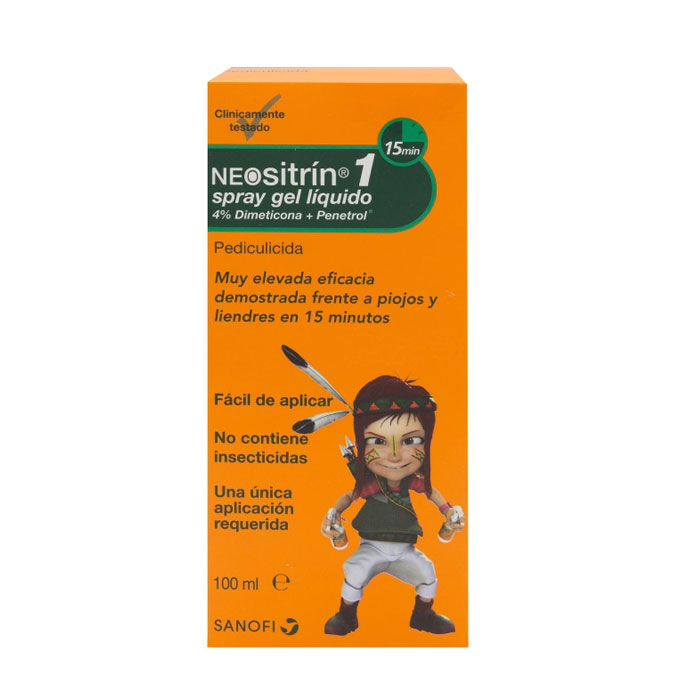 Neositrín Spray Gel 100ml