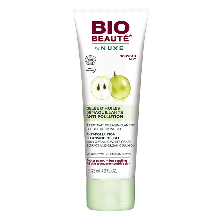 Nuxe BIO Beaute Desmaquillante Gel Uva blanca 125ml