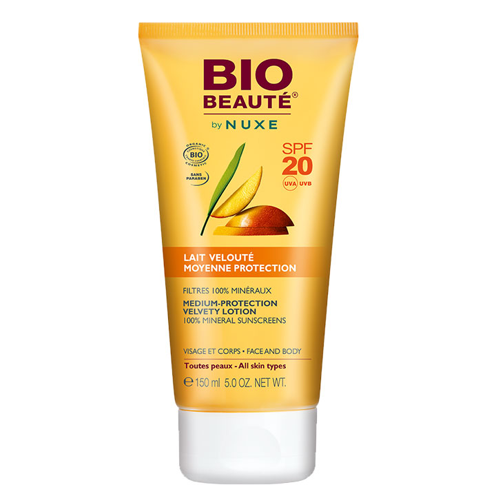 Nuxe BIO Beaute Leche Protección Media SPF20 150ml