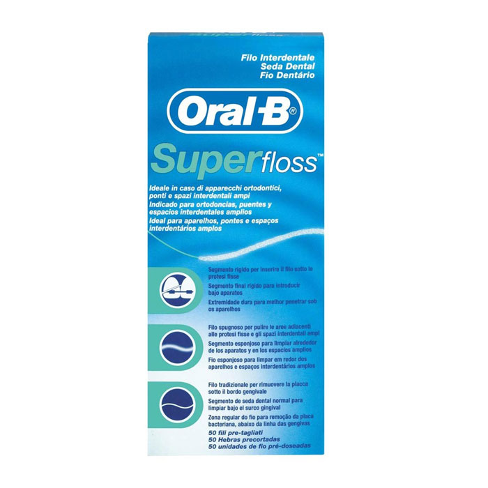 Oral B Super Floss Seda Dental