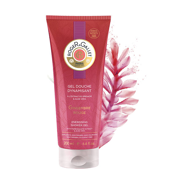 Gingembre Gel de ducha fresco estimulante 200ml