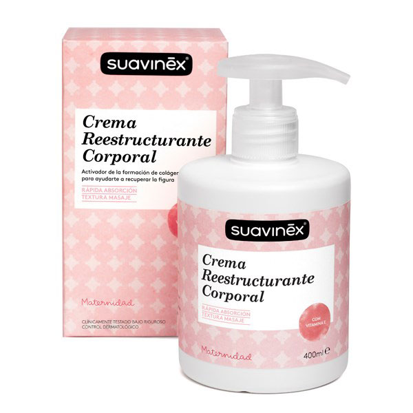 Suavinex Crema Reestructurante post-parto 400ml